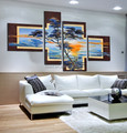 abstract wall art pictures on canvas