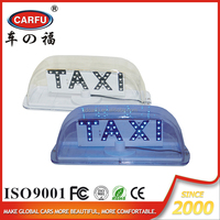 New product Best Selling waterproof led taxi top advertising light box