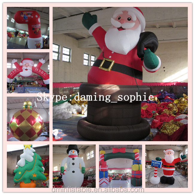 Outdoors Inflatable Christmas Snowman
