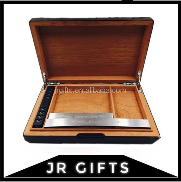 Custom Size Wooden Cigar Packing Boxes Storage Case for Wholesale