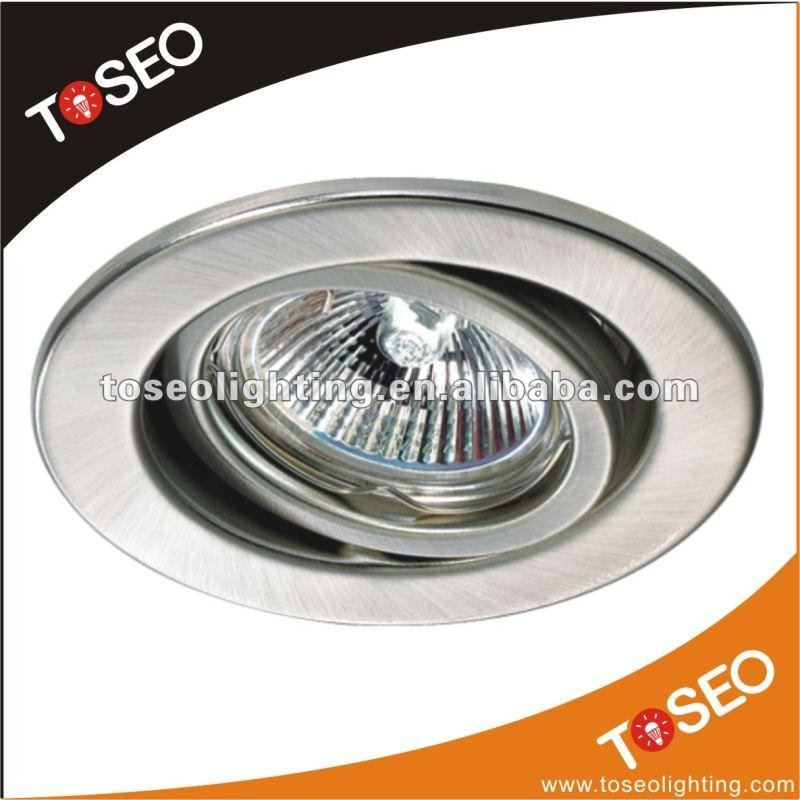 metal pressing recessed fixture gu10