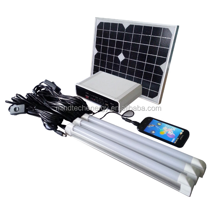 Portable Solar Panel/Small Solar lighting kits 10W 20W