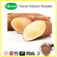 Pure natural Yacon Extract/Yacon Extract Powder/Smallanthus sonchifolius powder