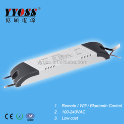 High efficiency 18-36w 300ma 600ma led driver dimmable by wifi bluetooth remote control with competitive price