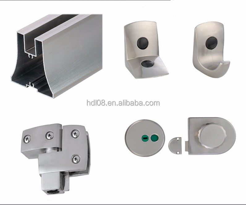 Toilet cubicle partitions hardware accessories buy for Bathroom partition hardware