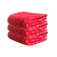 Factory supply wholesale newest double faces polar fleece washcloth soft warm fleece pet dog bed cage