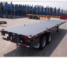 China High Qualiy Hot Selling 40ft 3 Axles Flatbed Trailer Frame