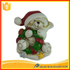 High Quality Resin Christmas Ornaments, resin bear Custom Christmas Figurines