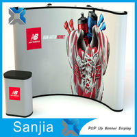 Trade Show Folding Booth Pop Up Banner Exhibition Display Stand