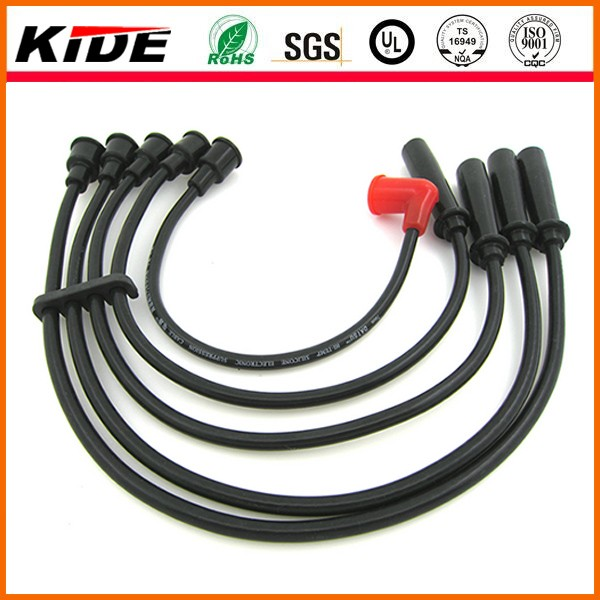 Auto electric parts ignition cable set spark plug wire