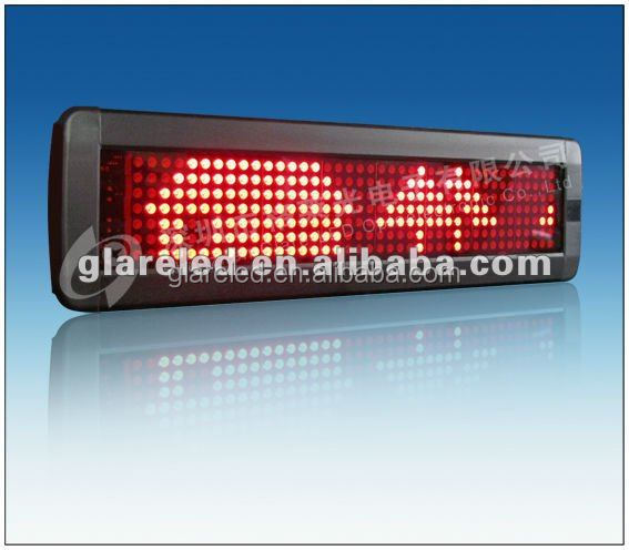 LED Billboard school bus moving message sign