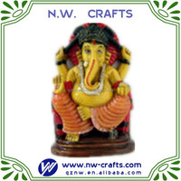 mini ganesh figurines hindu religious home decor