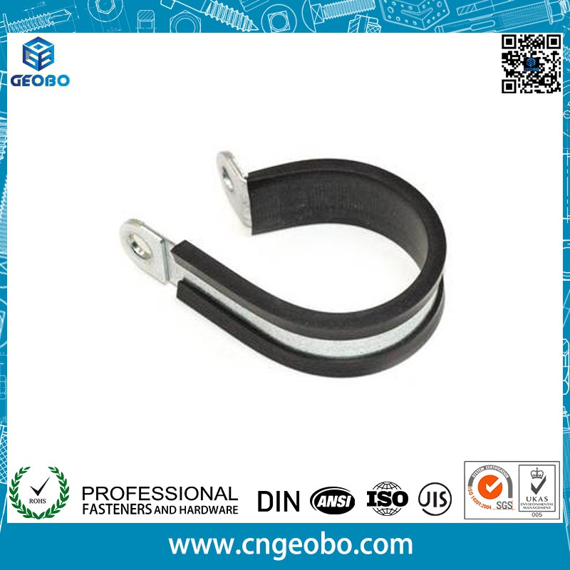 Carbon Steel/Stainless Steel with Rubber Fixing Clamp