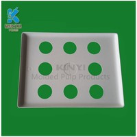 New product packing tray fresh apple fruit sugarcane pulp tray