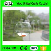 Hanging Glass Ball Vase Fish Aquarium Tank Glass Terrarium for succulent Plant