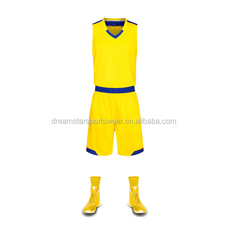Reversible Custom High Quality Cheap Price Basketball Uniforms