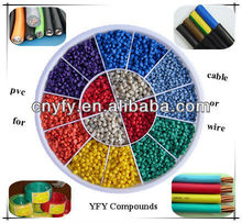 PVC compounds for cable (fire retardant)