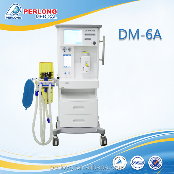 DM-6A high performance animals auto anesthesia machine operation