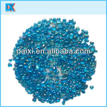 Wall and vases color glass decoration beads