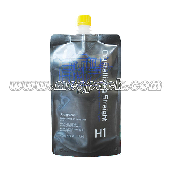 Customized Chemical Liquid Aluminum Foil Spout Plastic Pouch