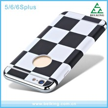 High-end 3In1 Hard PC Plastic Case For iPhone5/6/6Plus, Shockproof Case For iPhone Phone