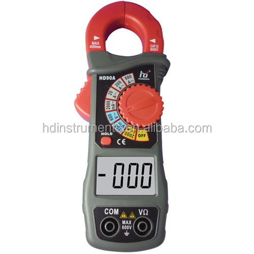 Hot sale pocket 600A AC Current Clamp Meter / digital clamp on meter