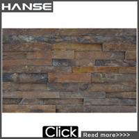 cheap rustic natural stone exterior wall decorative cladding panel