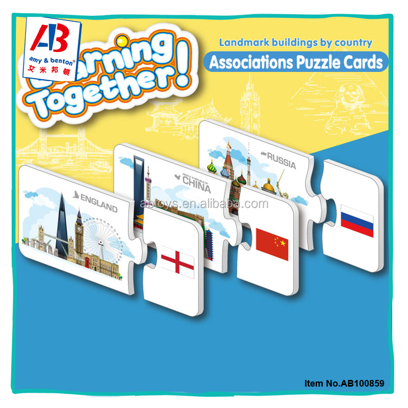 Top funny educational toy jigsaw games puzzle