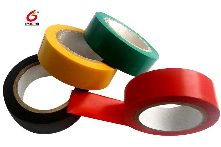 Non-residual,flexibility,tensile,multicolor Electrical Adhesive Tape