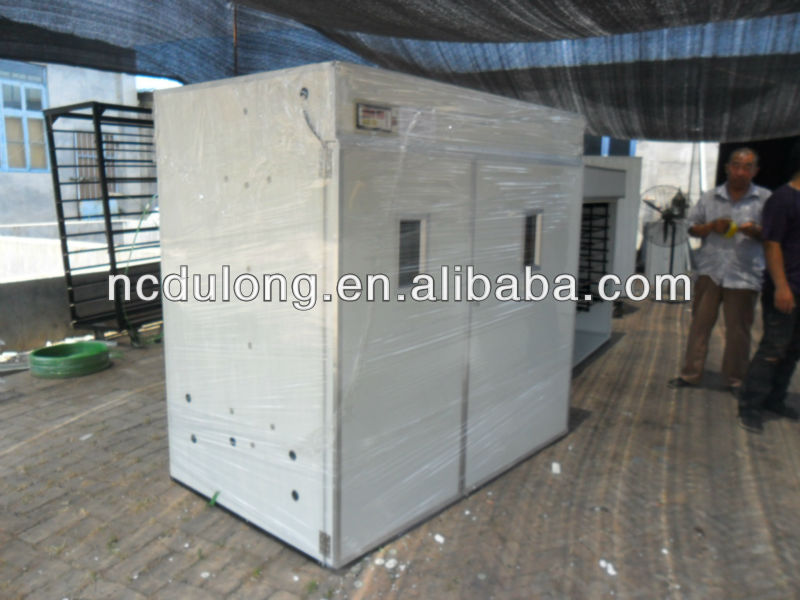 Professional CE approved DLF-T24 holding 5280 chicken eggs incubator
