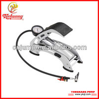 foot pedal air pump for car and other tires