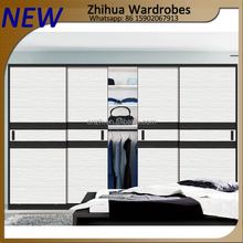 Zhihua modern wooden simple wardrobe for small rooms