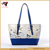 2015 Bags Handbag Women's Bag and Shoe Set Wholesale Handbag Tote China Factory