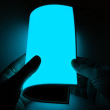 Trade Assurance Super Bright el paper backlight Electroluminescent Light thin led sheet Cuttable EL Panel With Inverter