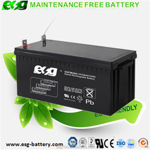 Deep cycle battery 12V200ah Dry battery , Long time backup ups battery with good price