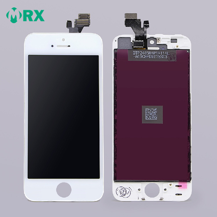 Hot selling mobile spare parts for iPhone 5 lcd and digitizer replacement