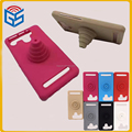 Latest! 4.0-5.5'' universal stand cartoon silicone bumper phone case for mobile phones smartphone