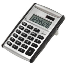 big logo positon best promotion gifts Solar 8 digits desktop flip up calculator