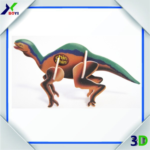 customized pp kids dinosaur 3d effect jigsaw puzzle