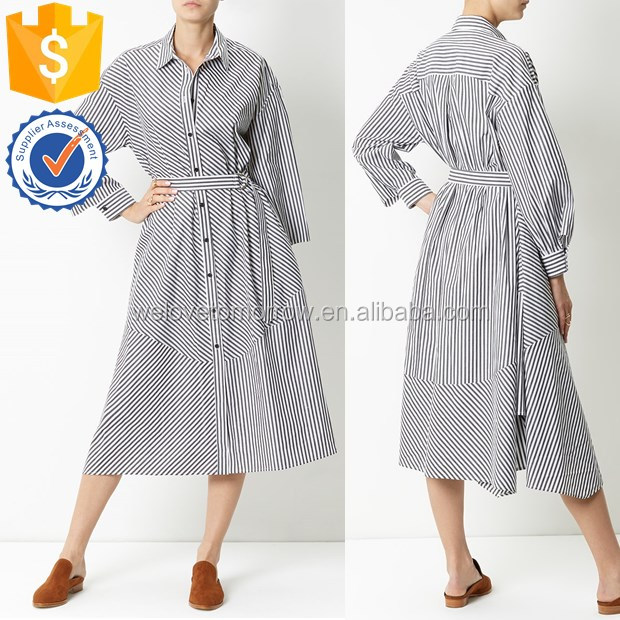 High quality factory design women fitness body stripe casual women dress TW2204D