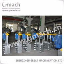 Gmach polymer filtration system -electrical screen changer