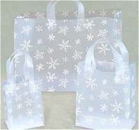 Biodegradable Merchandise Gift Gravure Printed Plastic Shopping Bag