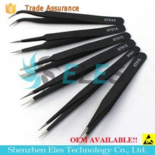 For precision instrument repair tools electronic anti-static tweezers
