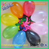 Factory Directly Wholesale 5 inch 0.22gr/pcs Natural Rubber Latex Water Baloons Big Water Bomb Balloon China