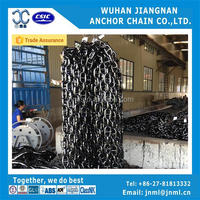 ship u3 stud link chain welded black paint marine anchor chain galvanized