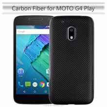Carbon Fiber Celular For MOTO G4 Play Cover Free Sample TPU MOTO G4 Play Case