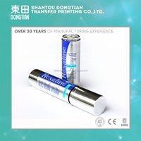 High quality china pvc heat transfer thermo film for aluminum serum bottle printing