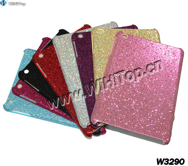 Glitter Bling Bling Case for iPad Mini.Back Hard Case Cover for iPad Mini.Different Colors