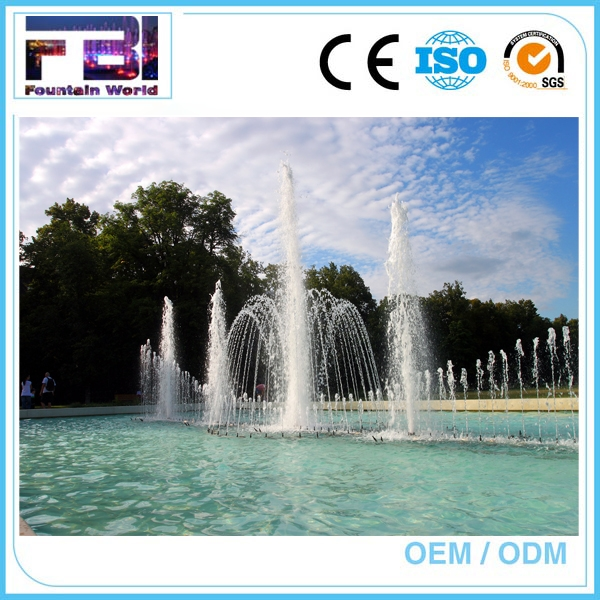 Large Scale Laser Show With small size music fountain music dancing water fountain
