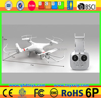 RC Drone HD Camera 4 Channel Transmitter 6 axis big Quadcopter with VR watch quality PK syma X8hg